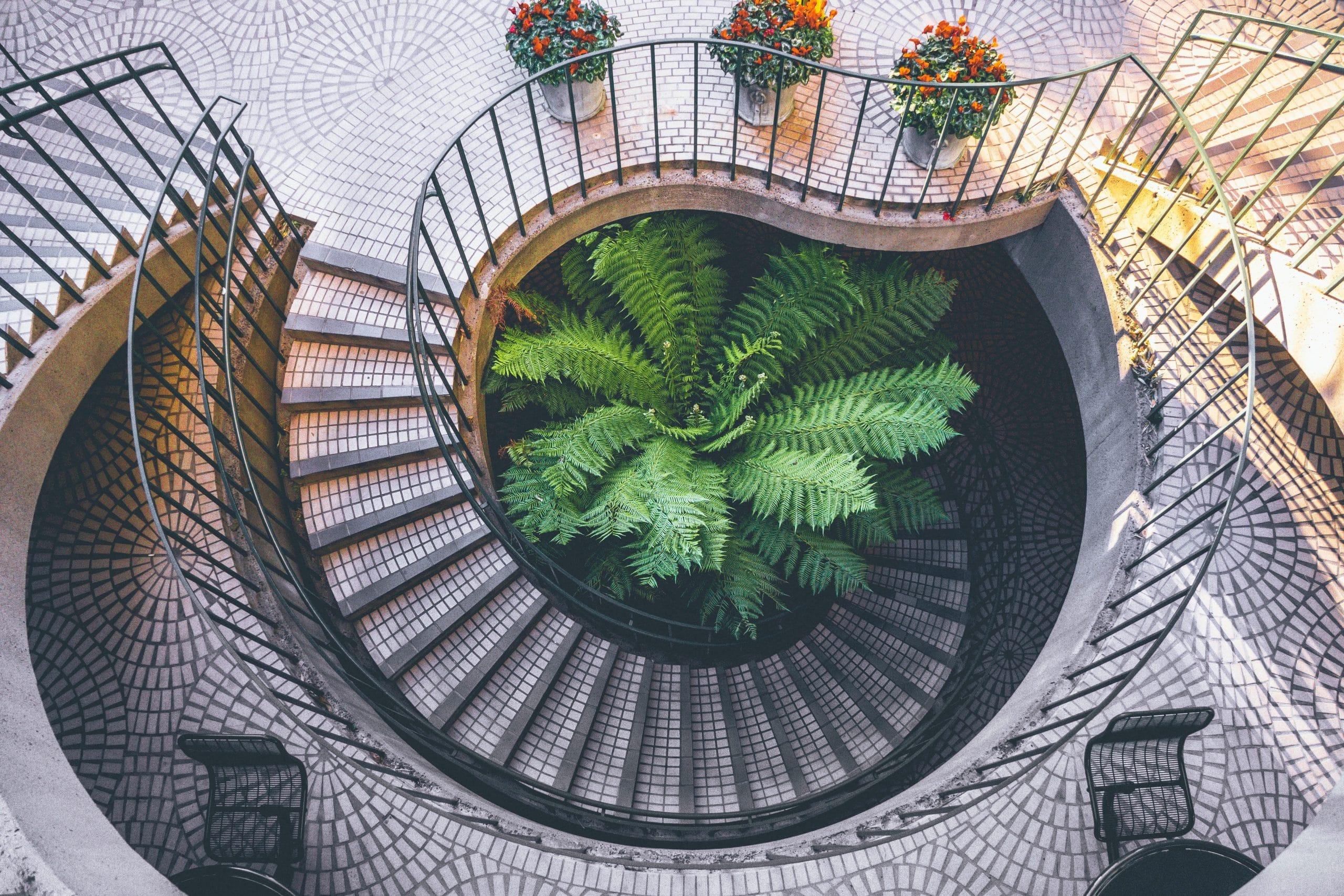 Das Treppenhaus eines Hauses vermittelt den ersten Eindruck und sollte daher immer sauber sein.